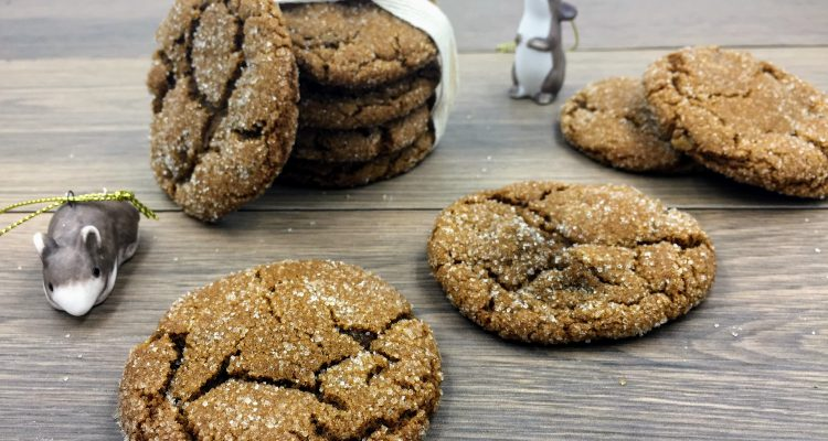 Recipe – Chewy Ginger Cookies