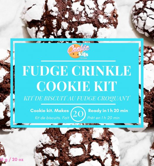 Fudge Crinkle Cookies