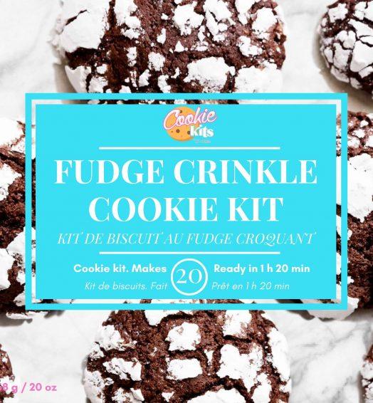 Fudge Crinkle Cookies