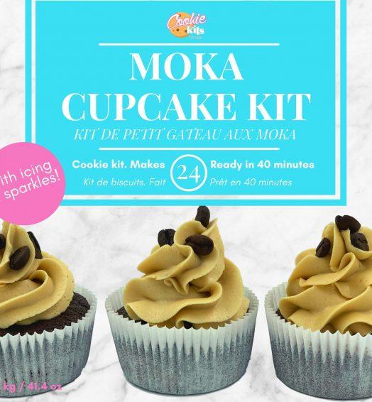 Moka cupcake kit