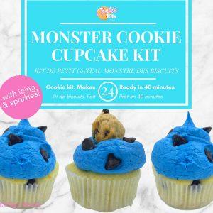 Monster cookie cupcake kit