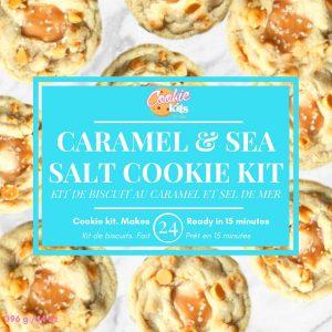 Caramel & Sea Salt Cookies