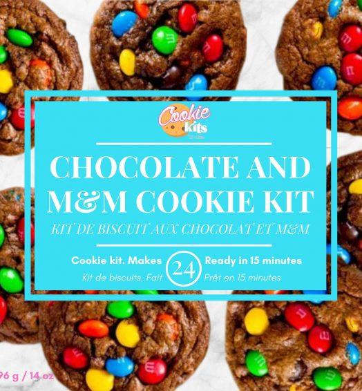 M&M Chocolate Cookies