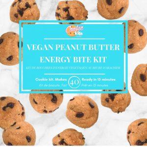Vegan Chocolate Peanut Butter Cookie Mini Bites